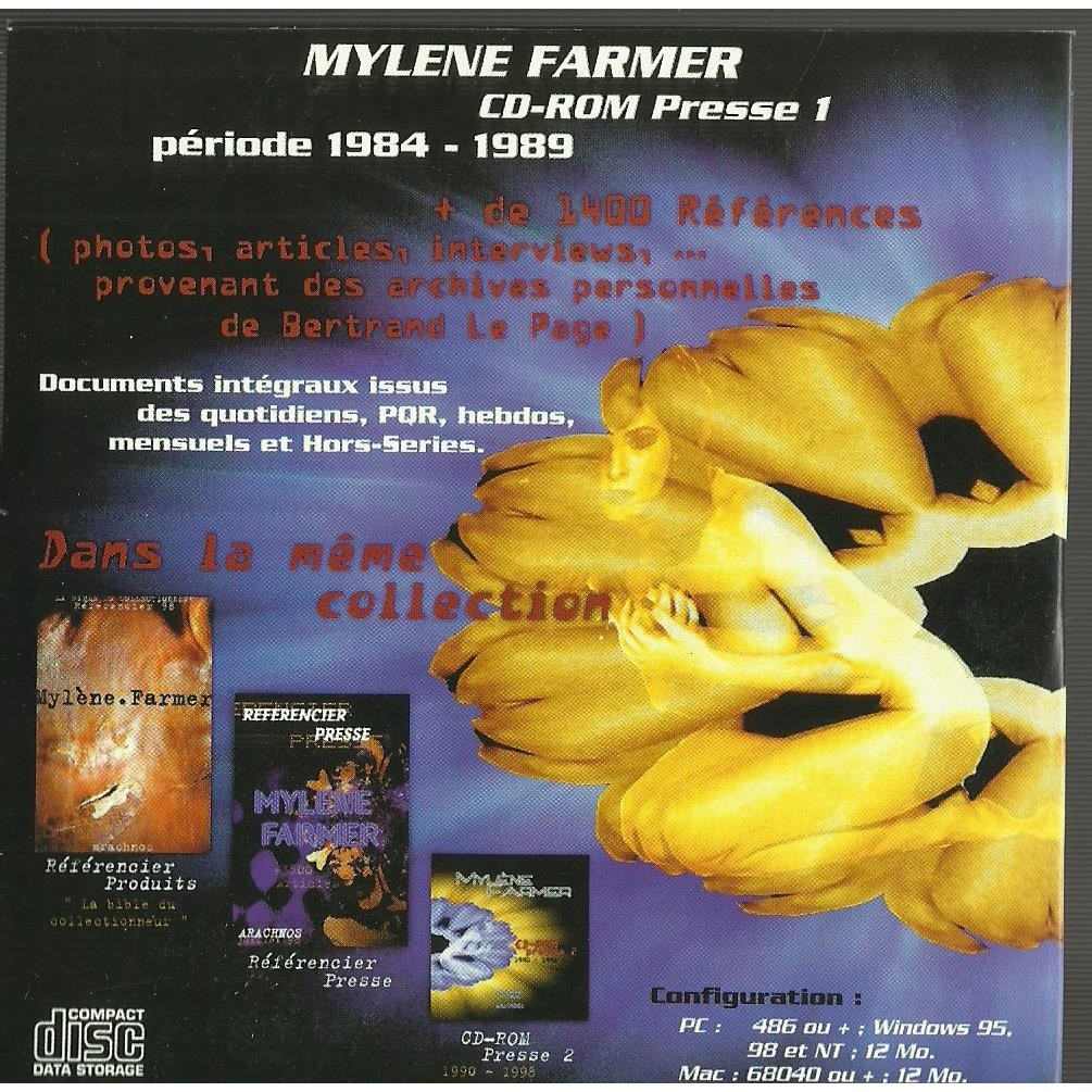 mylène farmer cd-rom presse 1
