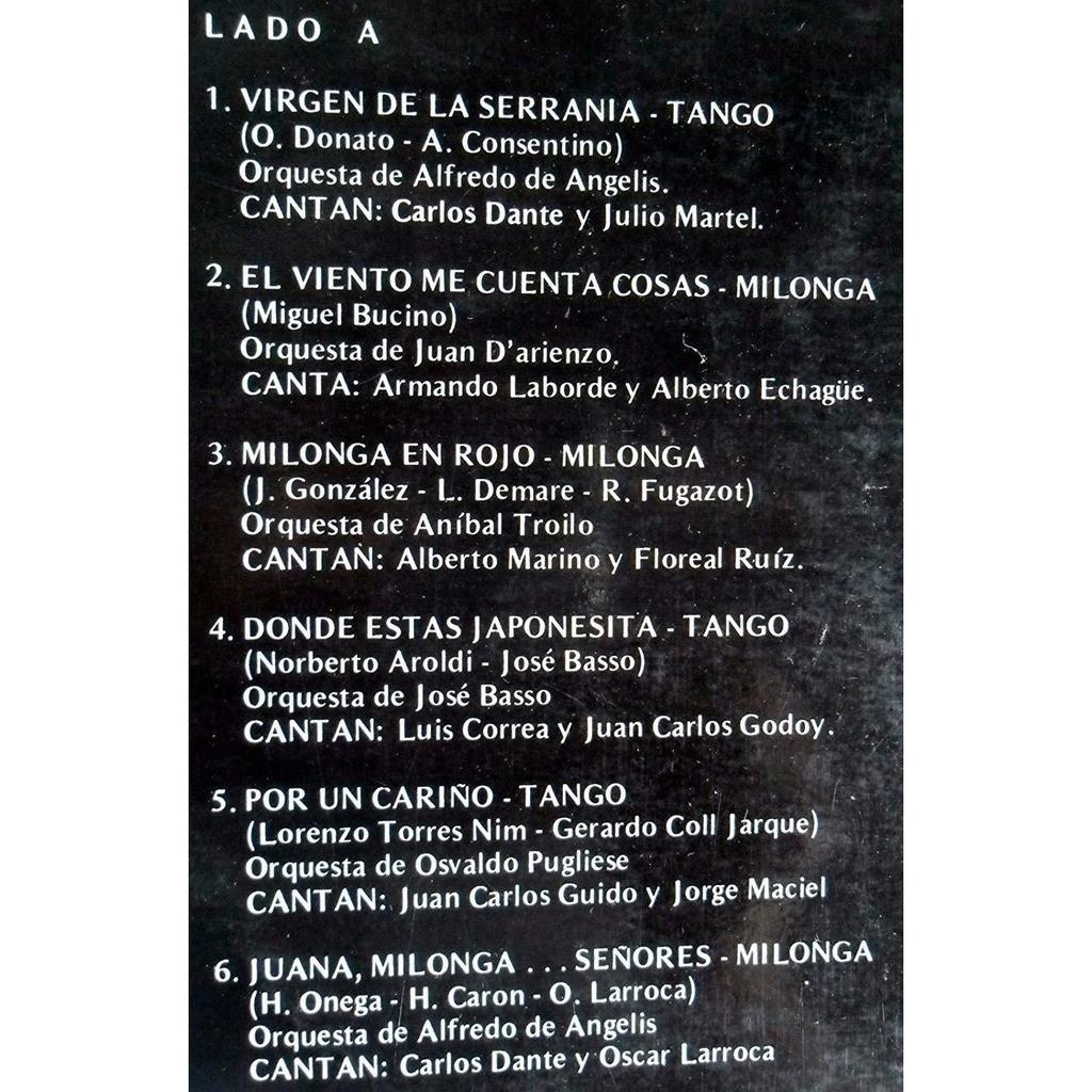 CON ALMA DE TANGO:ALFREDO DE ANGELIS-JUAN CARLOS CON ALMA DE TANGO:ALFREDO DE ANGELIS-JUAN CARLOS GODOY-OSCAR LARROCA-SERIE ESPEC