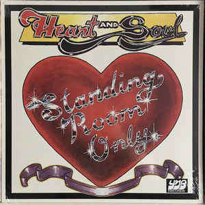 Standing Room Only - Heart And Soul (LP, Album, RE Standing Room Only - Heart And Soul (LP, Album, RE)