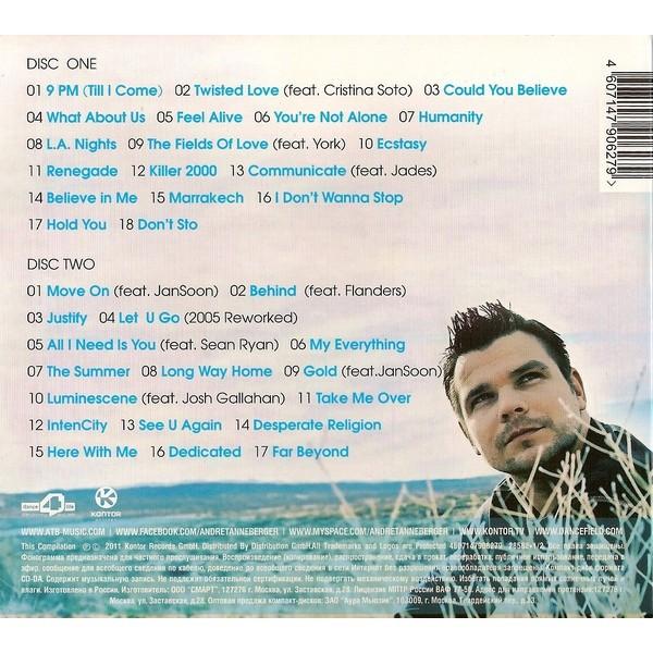 ATB Greatest Hits (2011) 2CD Digipak