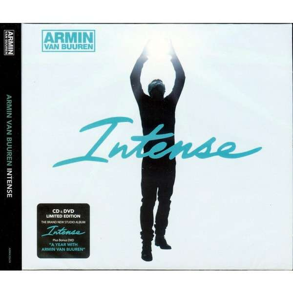 Armin Van Buuren Intense Limited Edition CD+DVD Digipak Sealed