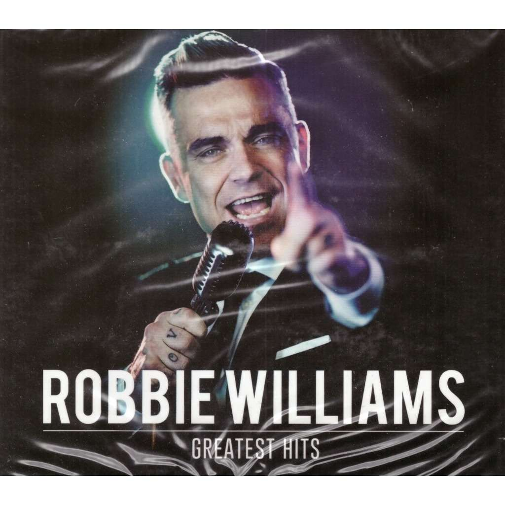 Robbie Williams Greatest Hits 2CD New Sealed