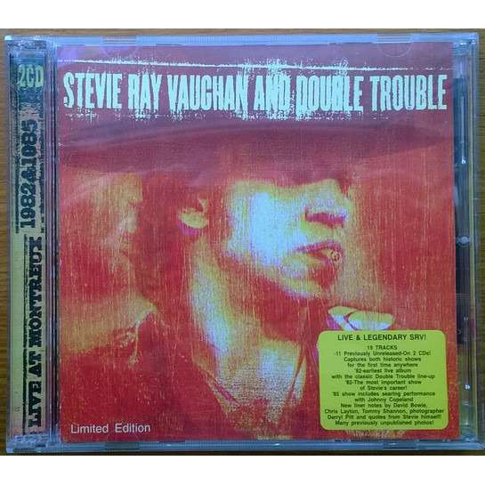 Steve Ray Vaughan And Double Trouble Live At Montreux 1982 & 1985