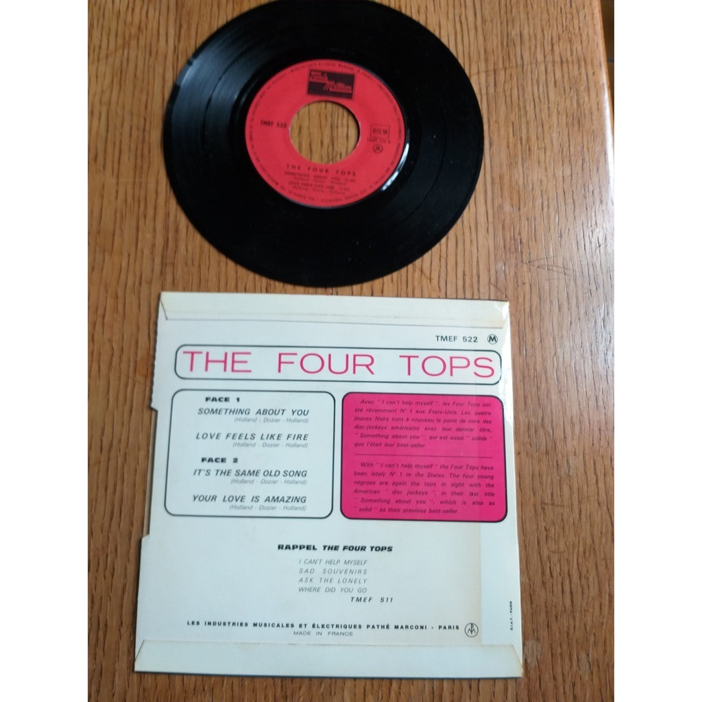four tops SOMETHING ABOUT YOU