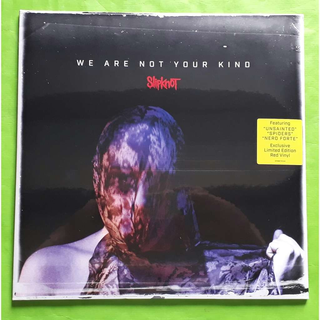 SLIPKNOT WE ARE NOT YOUR KING-(Limited édition)(2LP)(Red vinyl)&(Getefold sleeve)(Original)(2019)(Germany)