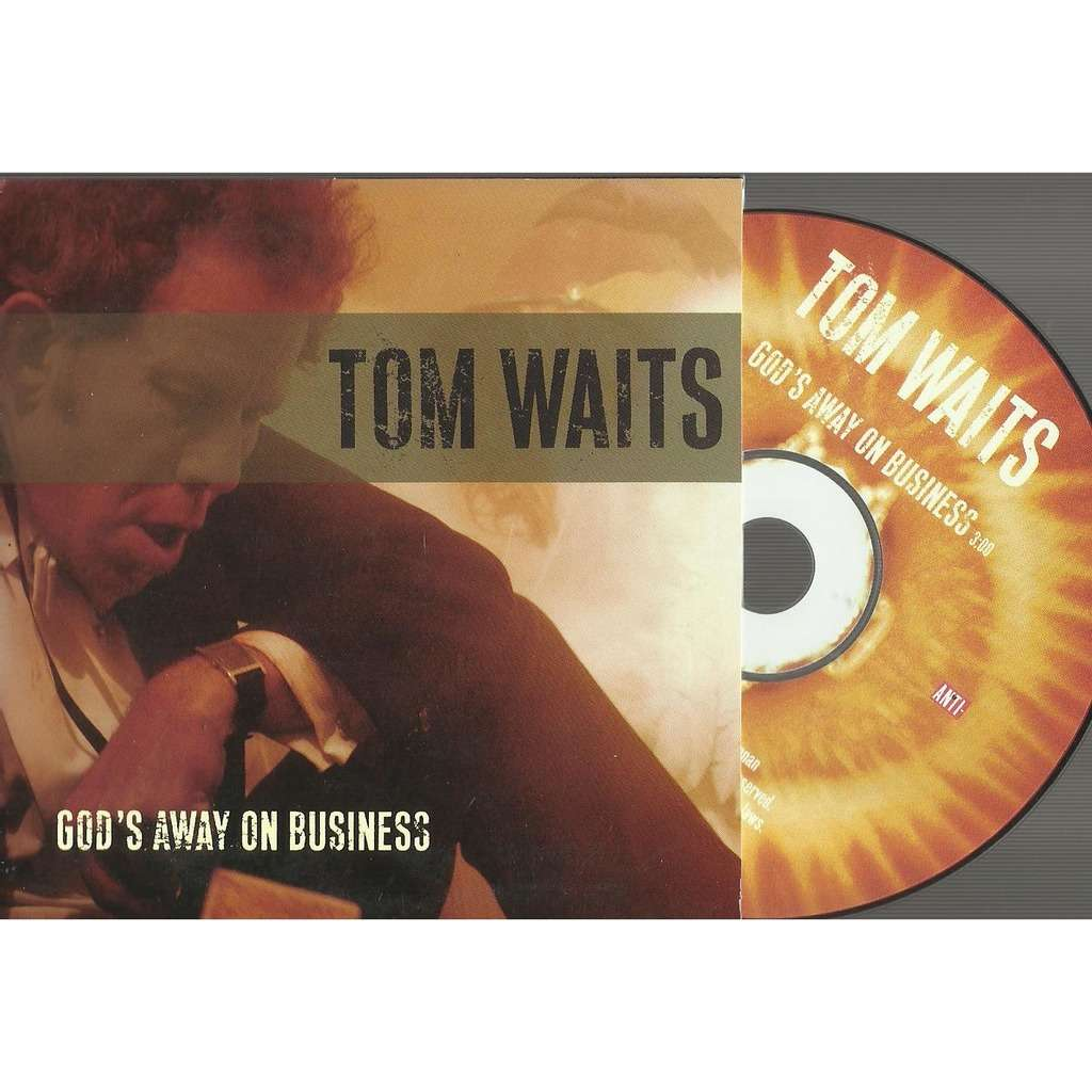 tom waits god's away on business promo