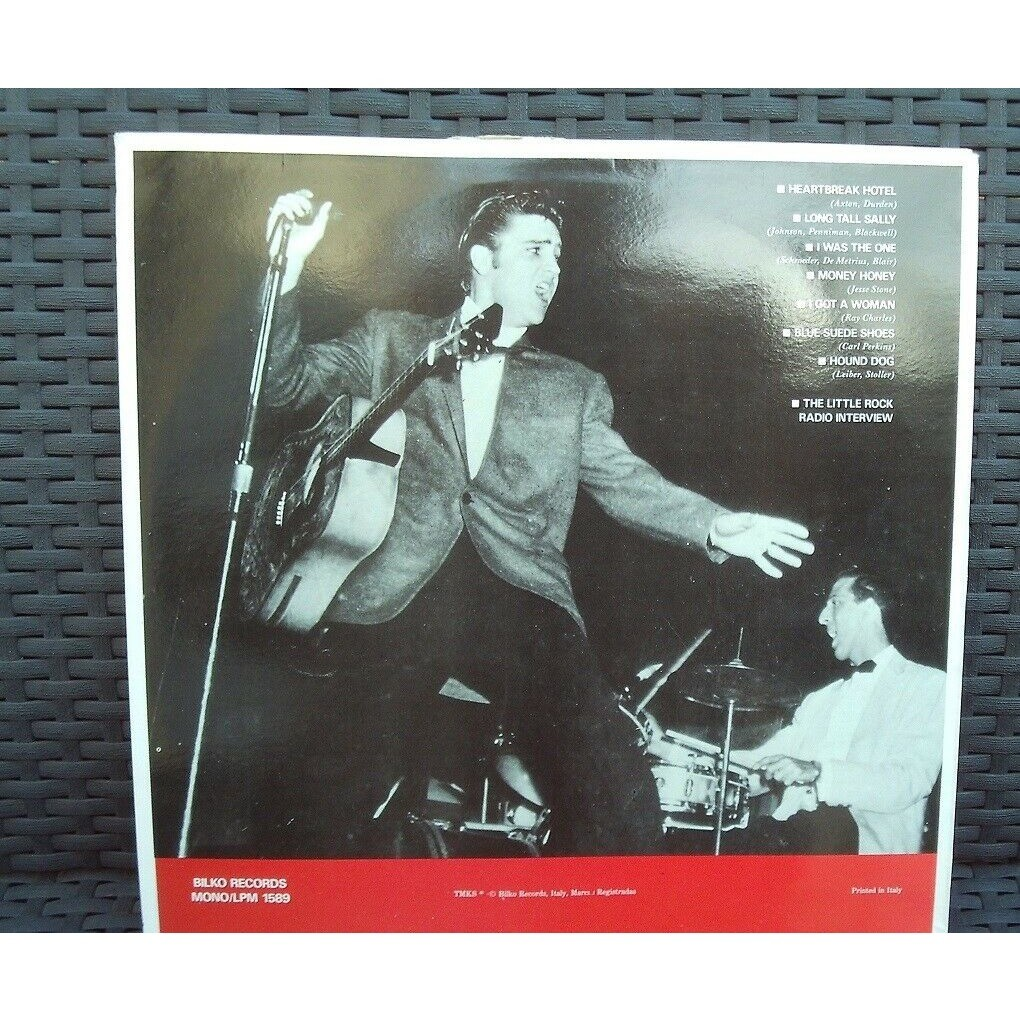 elvis presley 1 LP elvis rocks little rock 16/5/56 fabulous show !