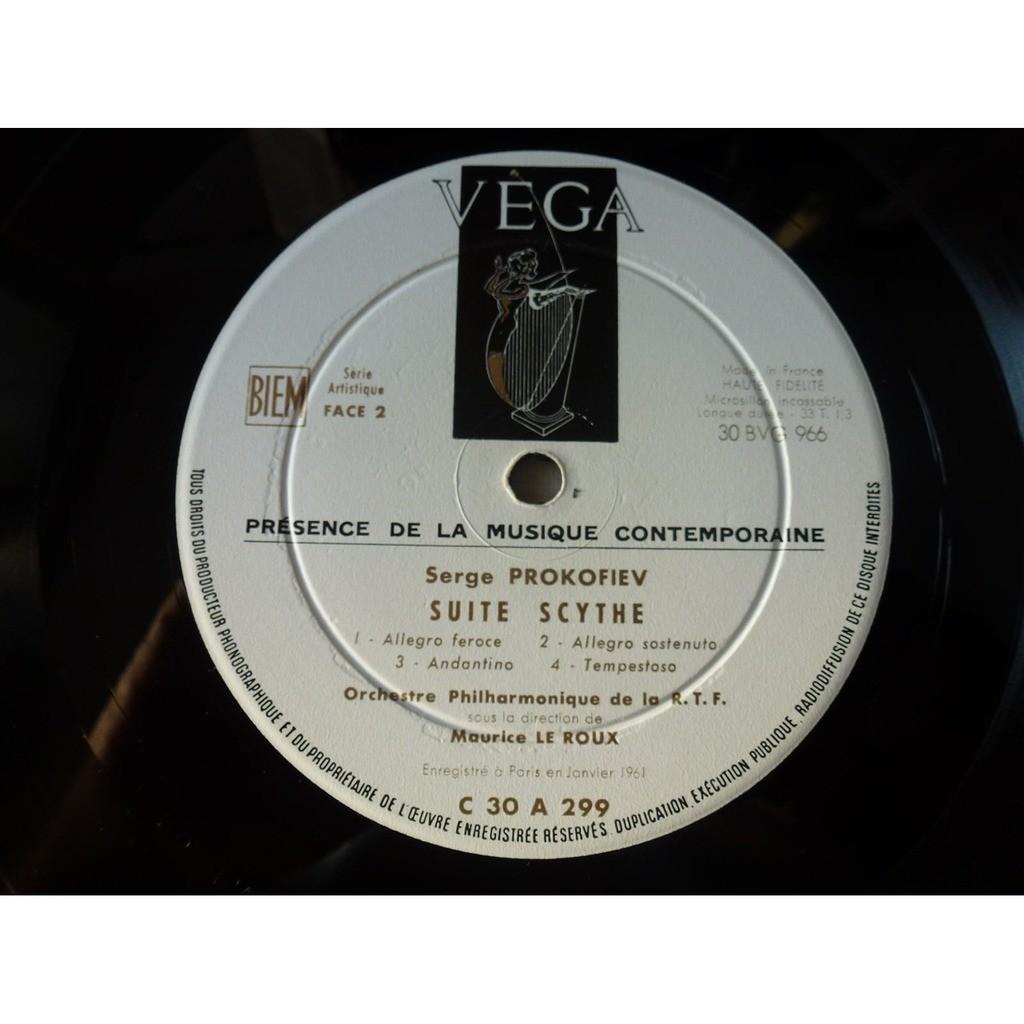 Georges Bernand, piano - Maurice le Roux orch rtf Prokofiev : concerto pour la main gauche - suite scythe