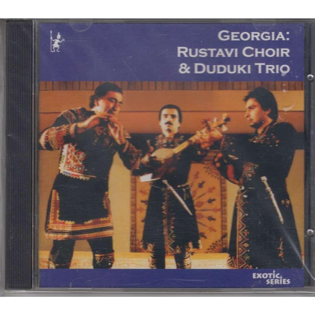 RUSTAVI CHOIR & DUDUKI TRIO Georgia CD RUS NEW