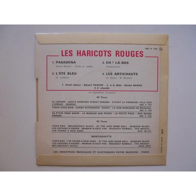 HARICOTS ROUGES PASADENA + 3