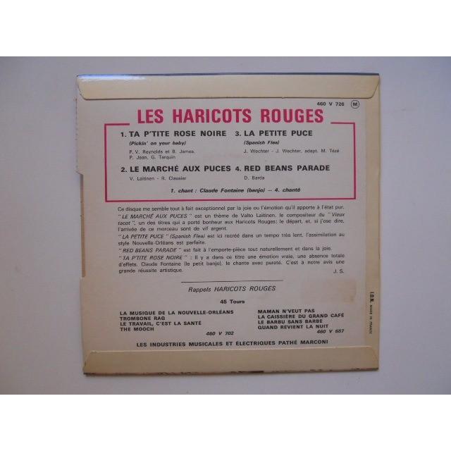 HARICOTS ROUGES TA P'TITE ROSE NOIRE + 3