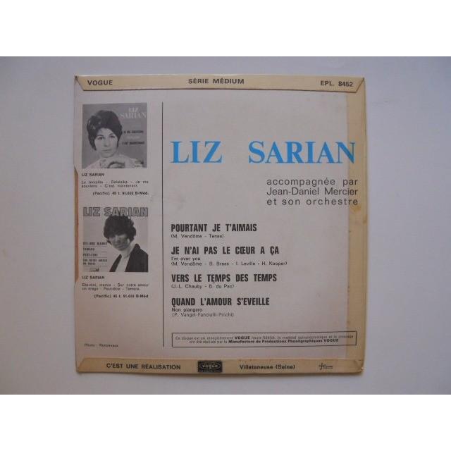 SARIAN LIZ POURTANT JE T'AIMAIS + 3