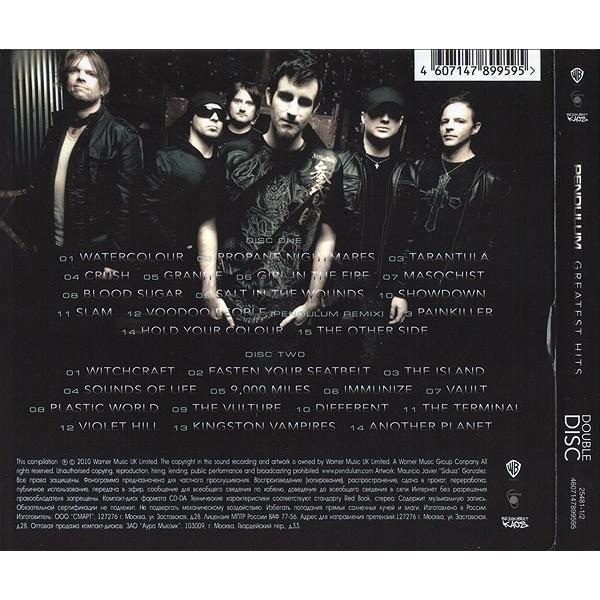 Pendulum Greatest Hits 2CD Digipak Sealed