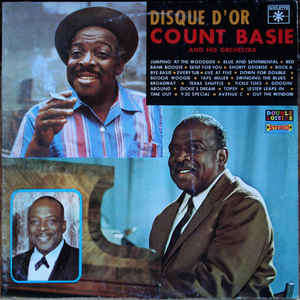 count basie and his orchestra disque d'or