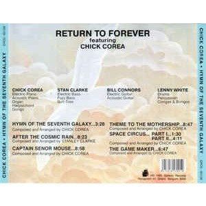 Return To Forever featuring Chick Corea Hymn Of The Seventh Galaxy
