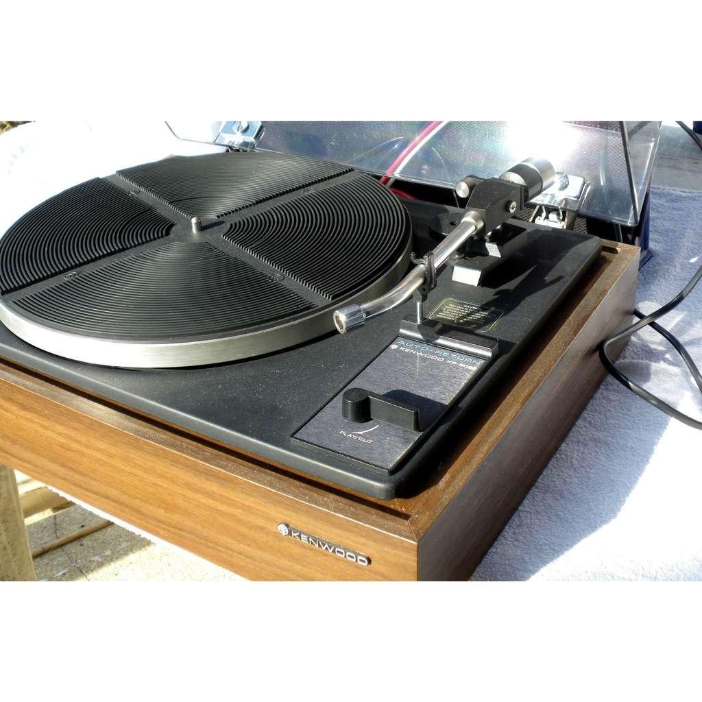 Kenwood Platine vinyles 45/33 trs turntable KP-2022 Japan EX Sans porte cellule