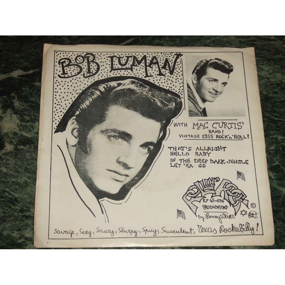 Bob Luman With Mac Curtis' Band That's Allright