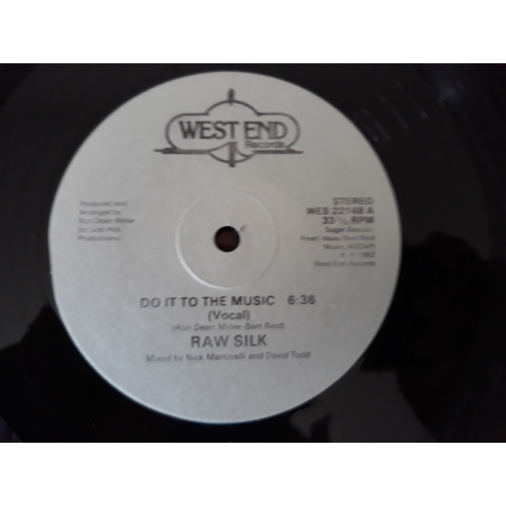 Raw Silk - Do It To The Music (12, Single) Raw Silk - Do It To The Music (12, Single)