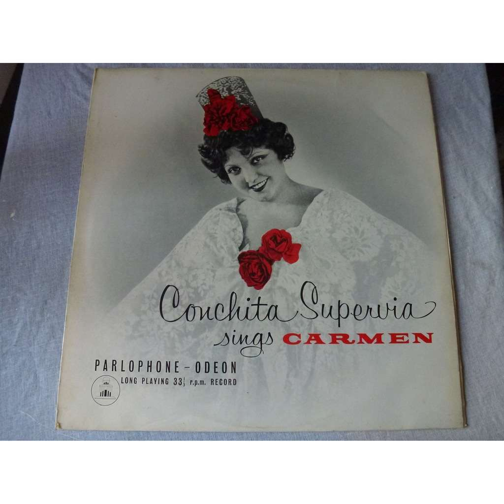 Conchita Supervia Chante Carmen - ( near mint condition )