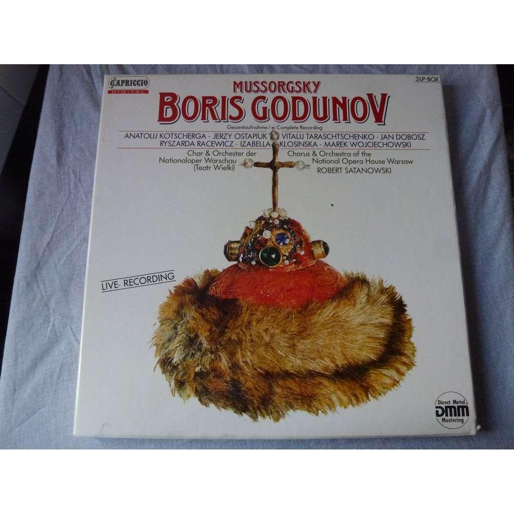 Mussorgsky Boris Godunov - ( 3 lp set box stéréo digital mint condition )
