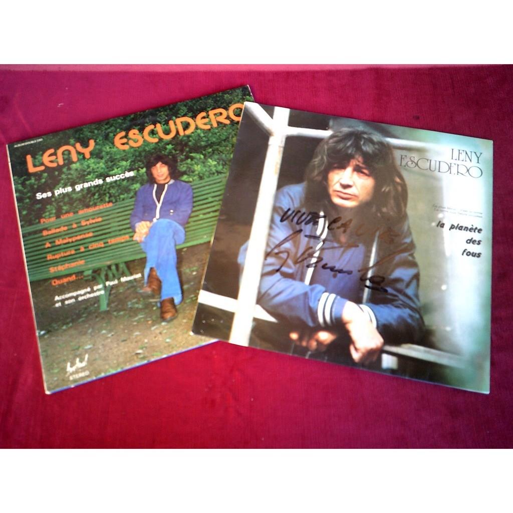 LENY ESCUDERO COLLECTION DE 10 / 33 TOURS