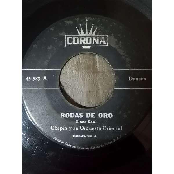 Chepin y su Orquesta Oriental Bodas de Oro(danzon)/Maria del Socorro(danzon)