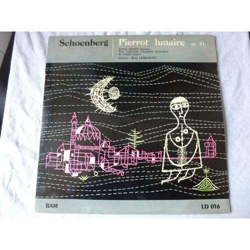 René leibowitz - ethel semser - w. parry Schoenberg : Pierrot lunaire op.21