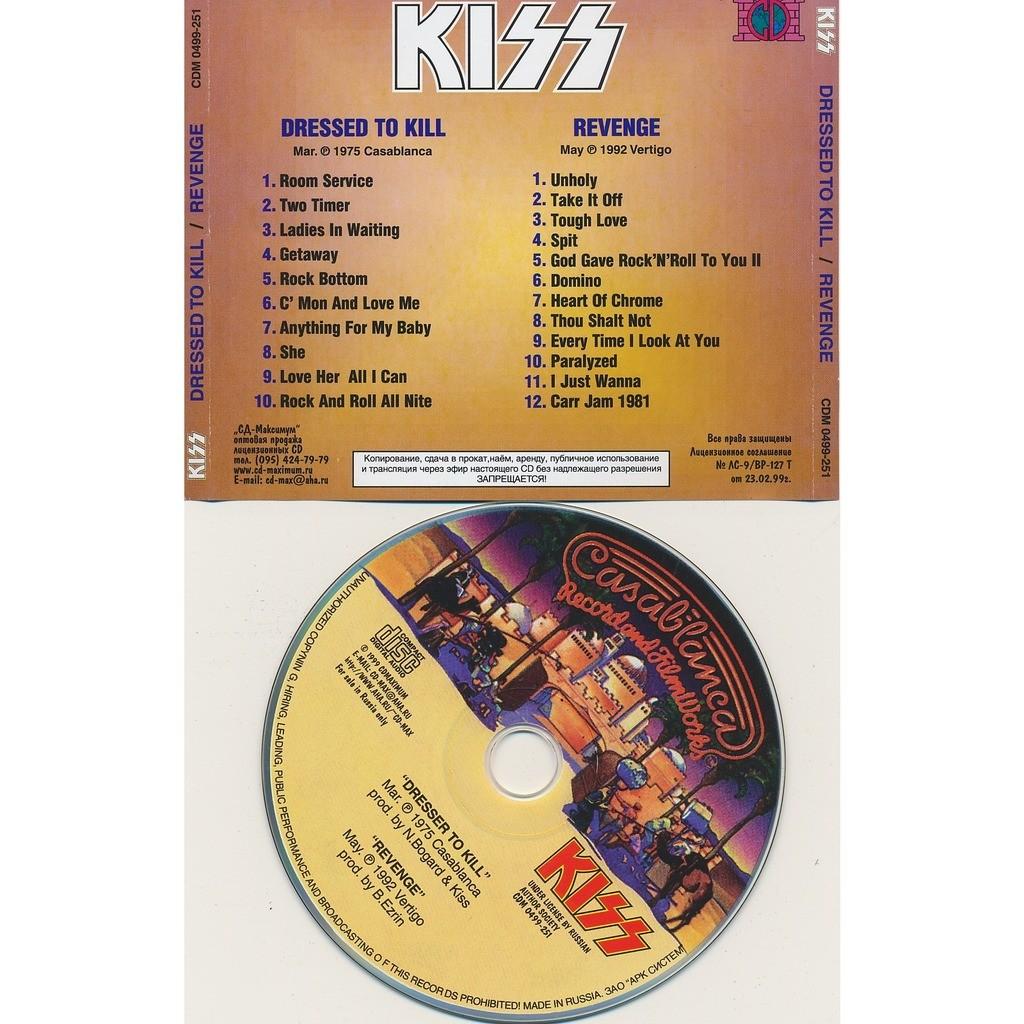 Kiss dressed to kill 1975 + revenge 1992 (2on1)