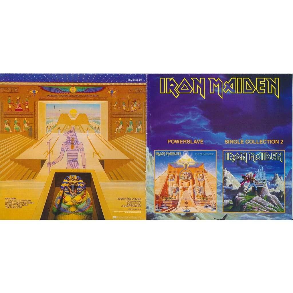 Iron Maiden powerslave 1984 + single collection 2 (2on1)