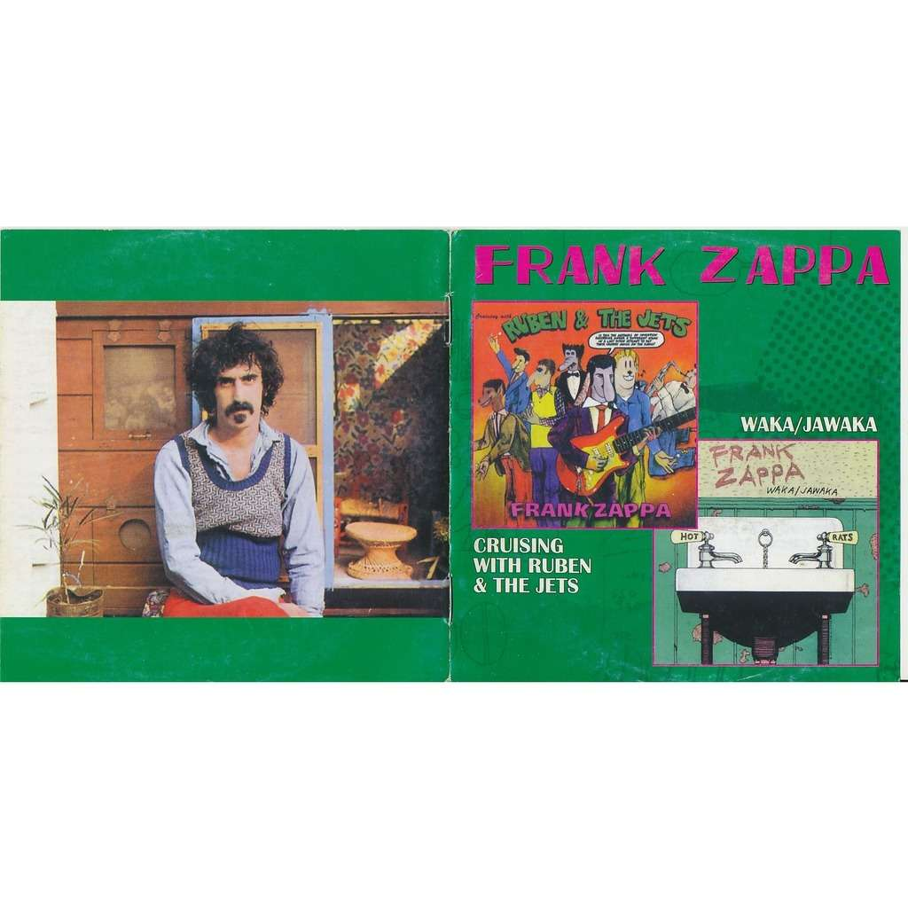 Frank Zappa cruising with ruben 1968 + waka/jawaka 1972 (2on1)