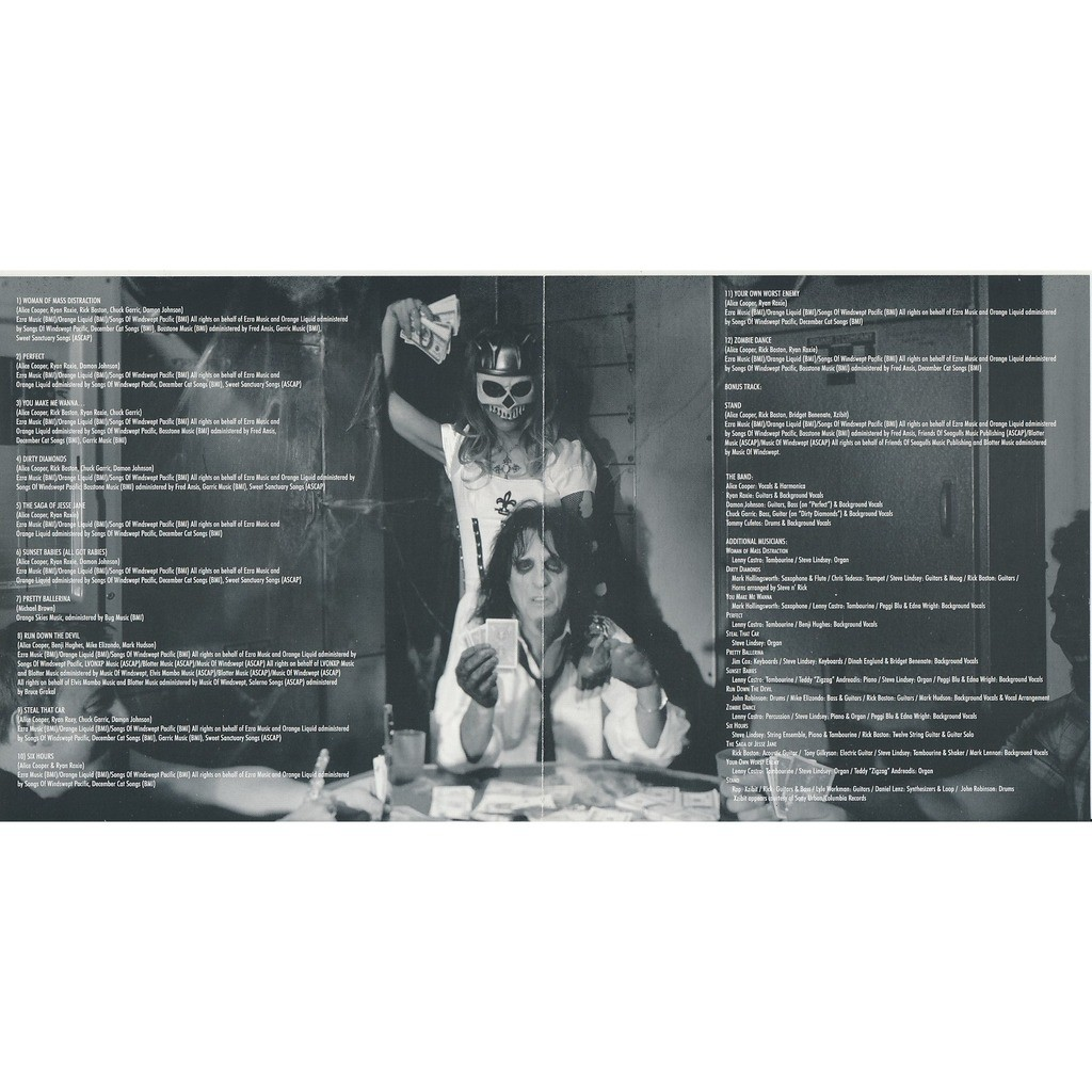 Alice Cooper Dirty Diamonds (Moon)