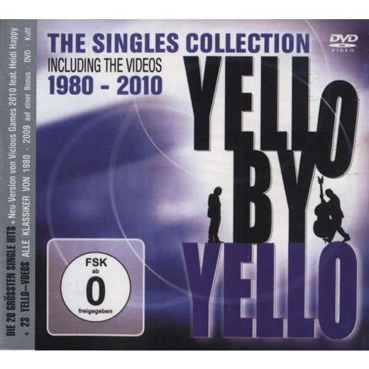 YELLO Yello By Yello The Singles Collection Including The Videos 1980 - 2010 CD+DVD Digipak