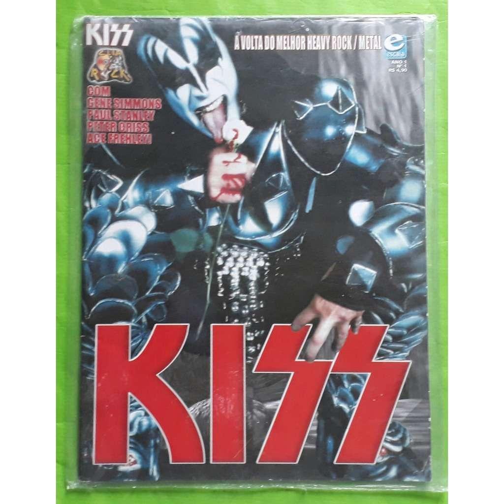 KISS KISS-(Limited)(Book)(Clip rock)(Original)(Escala)(2001)(Brazil).