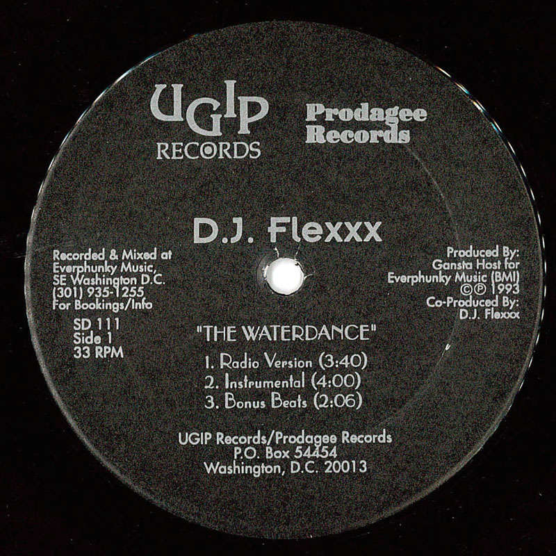 D.J. Flexxx The Waterdance