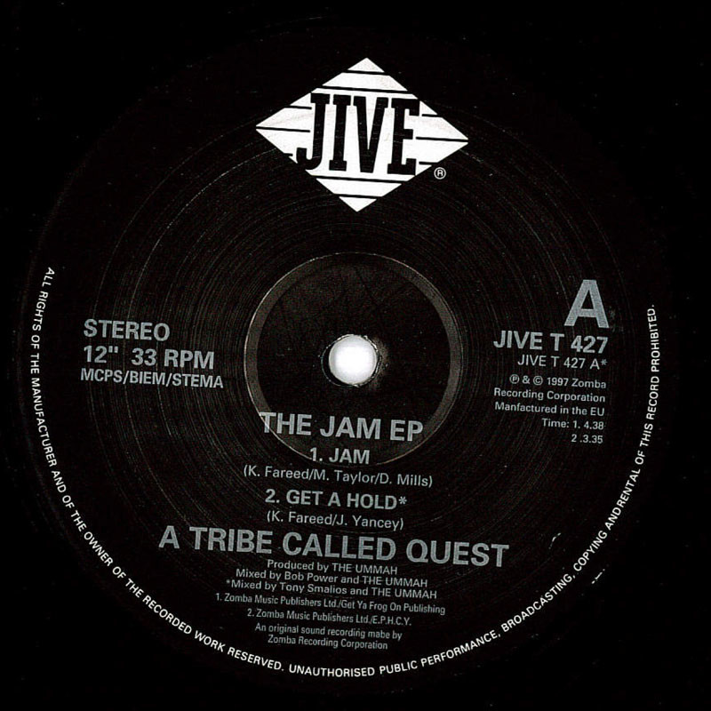 A Tribe Called Quest The Jam EP
