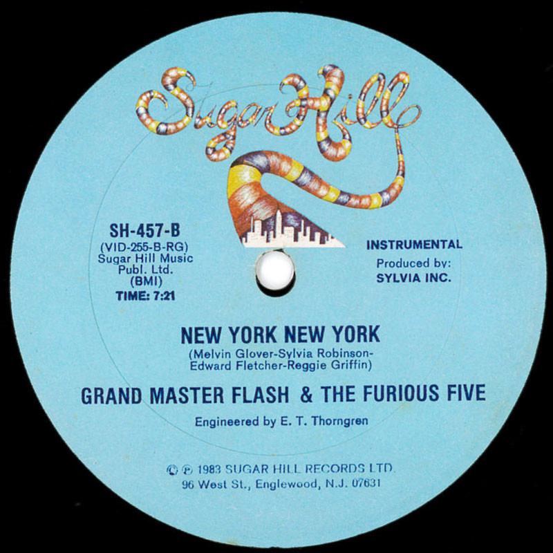 Grand Master Flash & The Furious Five New York New York