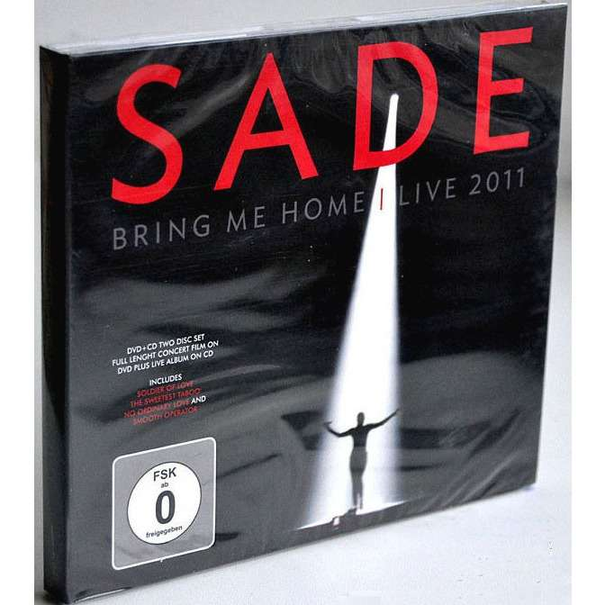 Sade Bring me home / Live 2011 (CD+DVD) Digipak Sealed