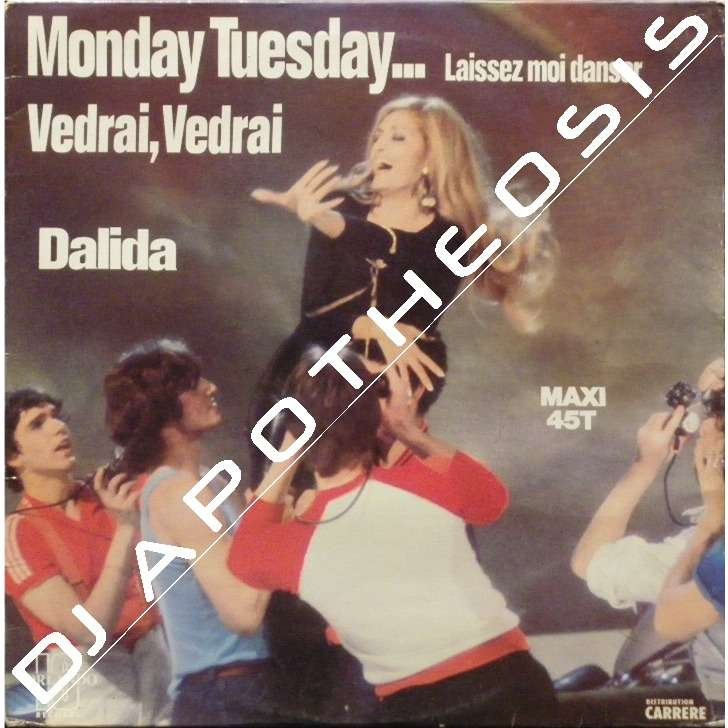 DALIDA Monday tuesday... laissez moi danser