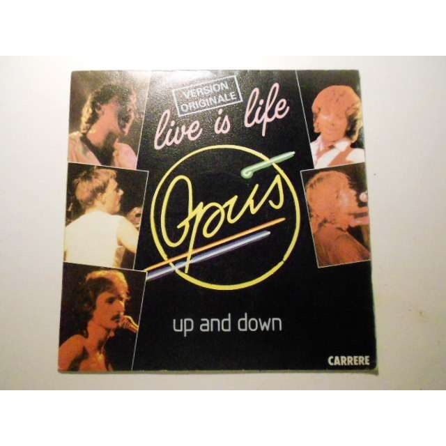 opus live is life / up and down
