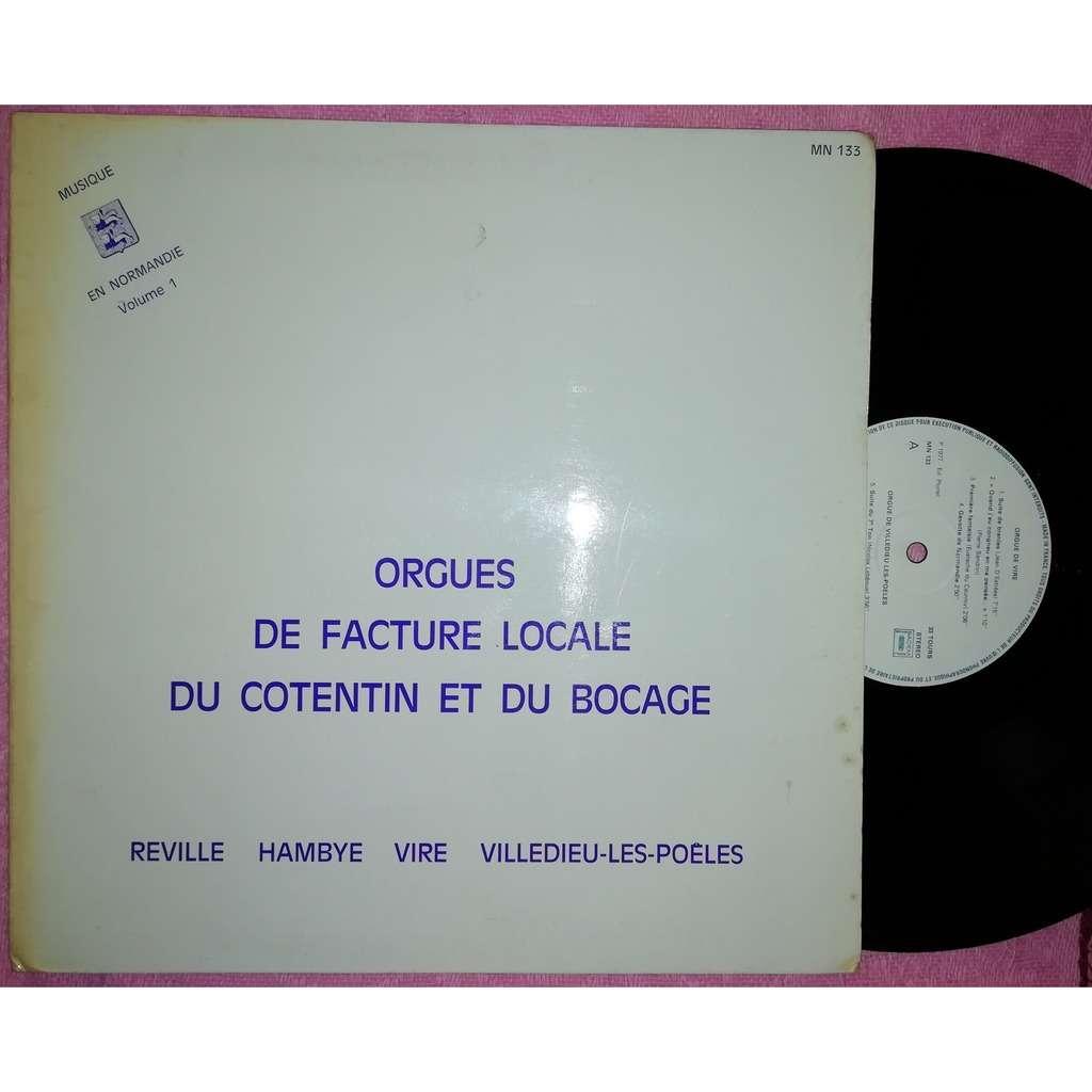 jean françois détrée orgues de facture locale du cotentin et du bocage Reville Hambye Vire Villedieu-les-poeles