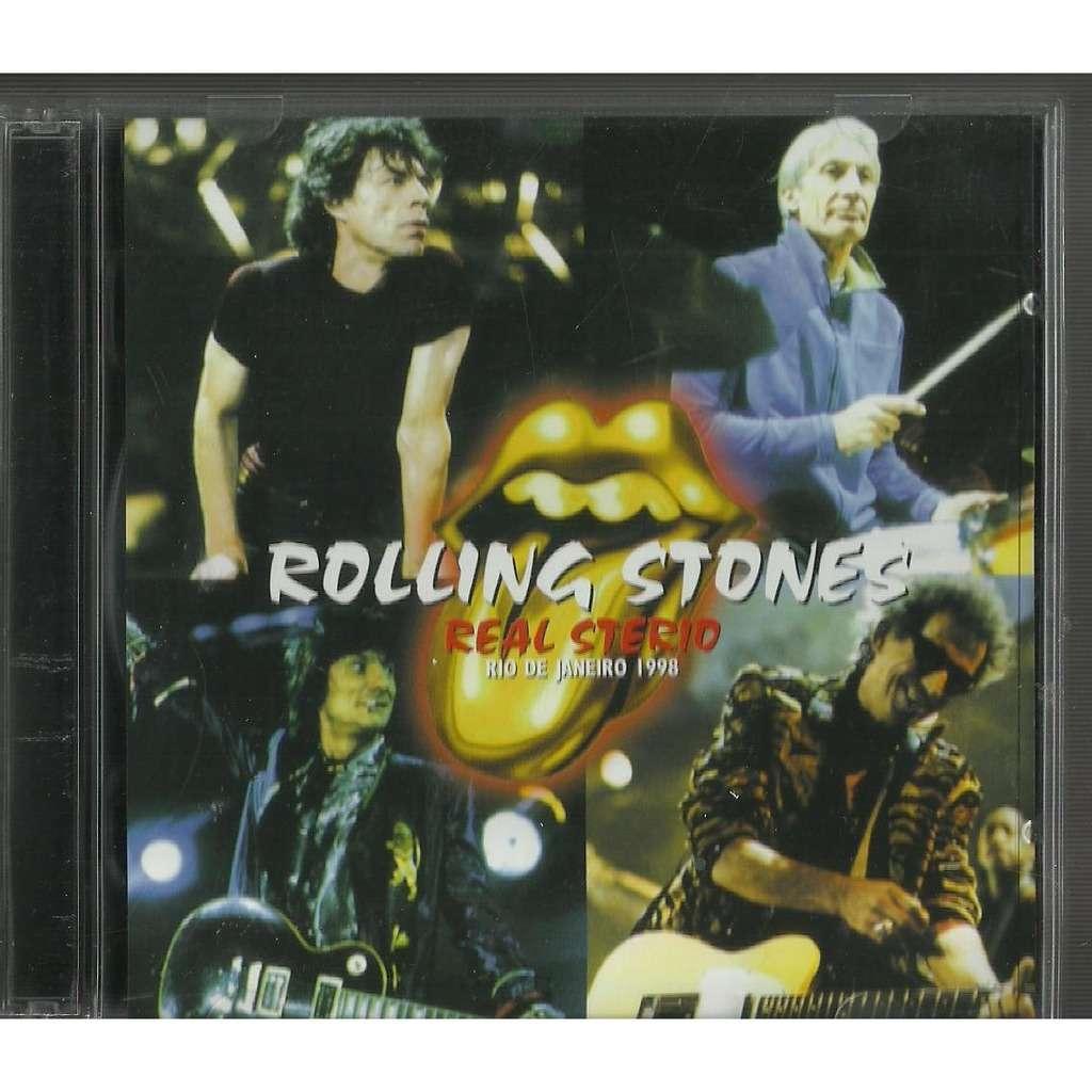the rolling stones real sterio rio de janeiro 1998