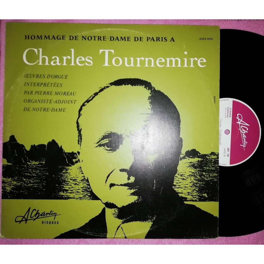 pierre moreau orgue notre dame de paris hommage à Charles Tournemire