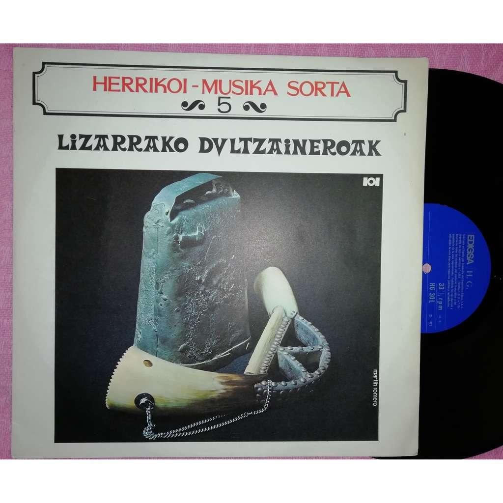 lizarrako dultzaineroak herrikoi musika sorta 5