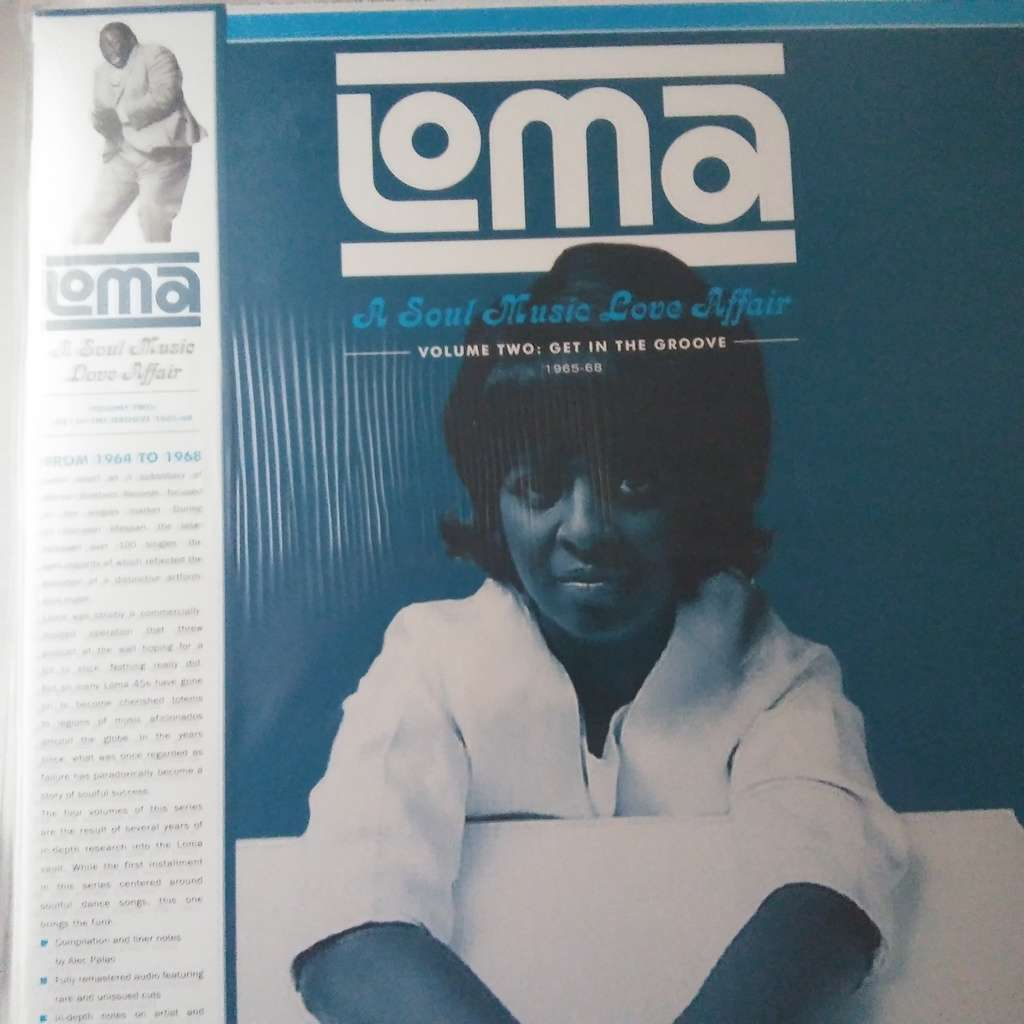 VARIOUS Loma: A Soul Music Love Affair Volume Two: Get In The Groove 1965-1968