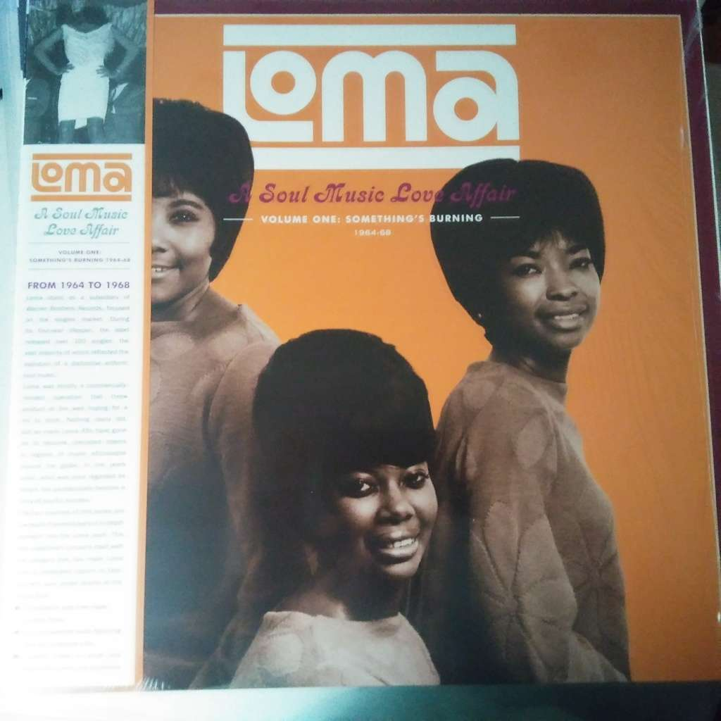 VARIOUS Loma: Soul Music Love Affair Volume One: Something's Burning 1964-1968