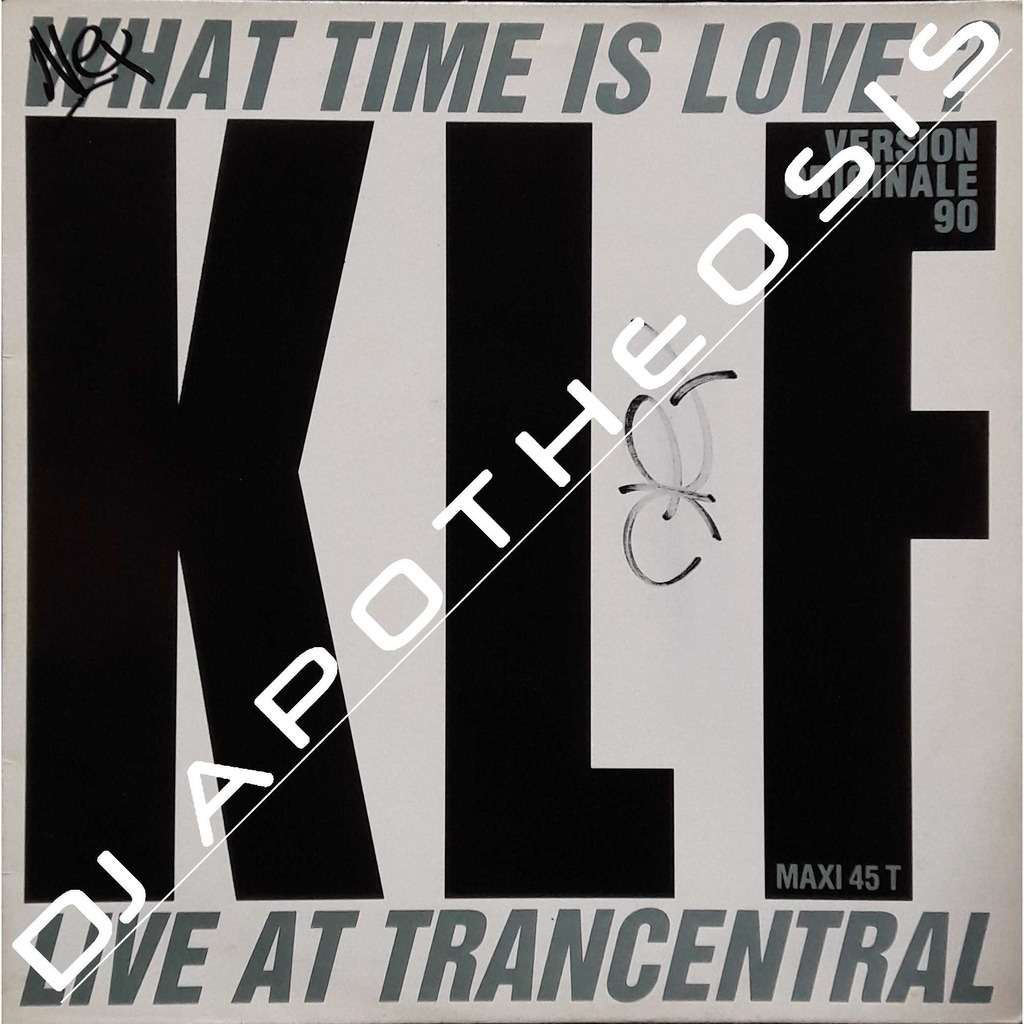 KLF What time is love? (Live at Trancentral)