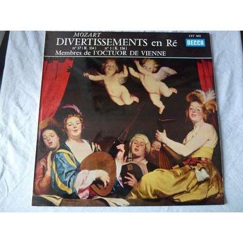 Mozart Divertimento 17 K.334 - 1 K.136 Mozart Divertimento 17 K.334 - 1 K. 136 - Membres de l'Octuor de Vienne