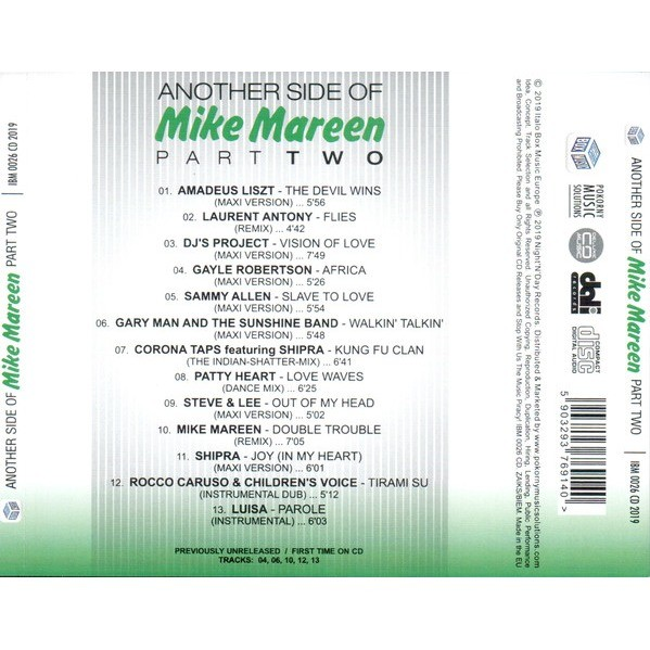 Mike Mareen Another Side Of Mike Mareen.Part Two
