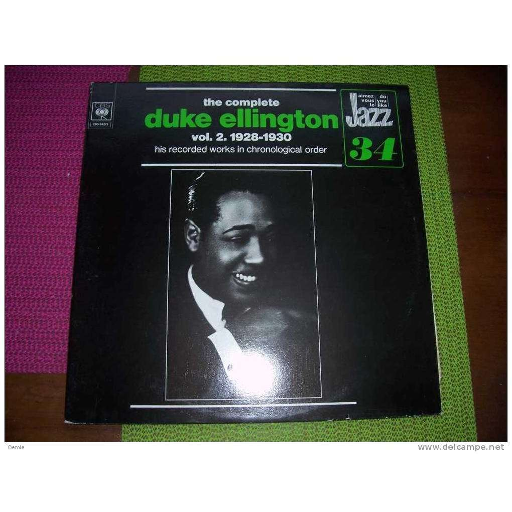 duke ellington VOL 2 1928 / 1934