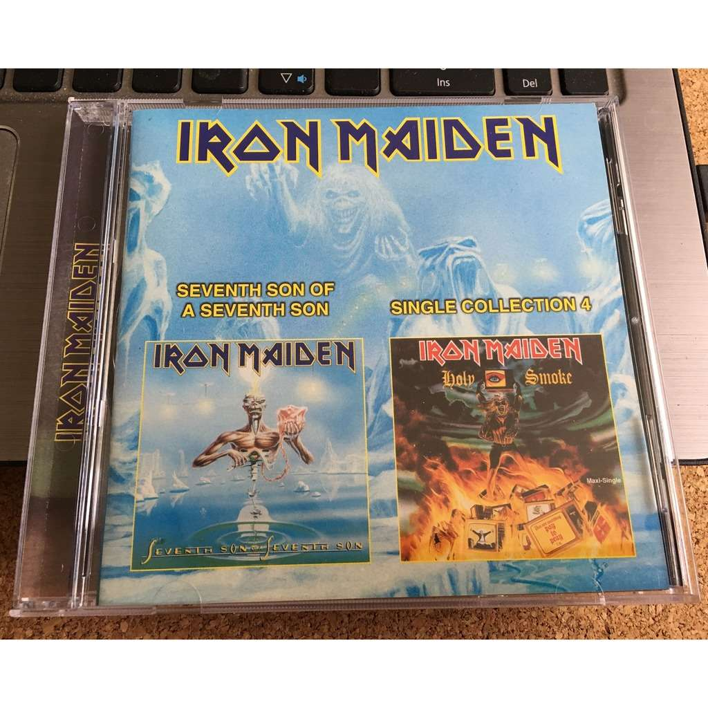 iron maiden seven son of a seventh son / single collection 4